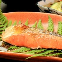 朝食のお魚一例