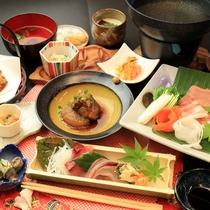 【グレードアップ夕食】の一例