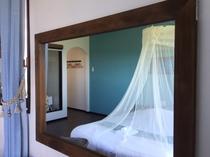 (客室Lagoon)細部の装飾も人気です
