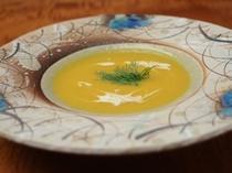 【替り鉢一例】南瓜のポタージュスープ