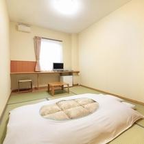 【客室】和室6畳 2名様定員のお部屋です。ビジネスユースに最適