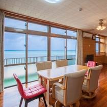 かりゆしコンドミニアムリゾート金武ニューコベナント 美しい海を見ながらの素敵な生活。