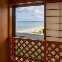 和室からの眺望