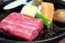 【夕食】飛騨牛ステーキ70g