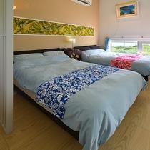 Hotel Laule'a ベッドルーム
