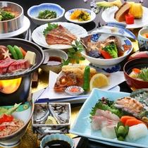 <豊後ご膳一例>大分県のうまい!がつまった郷土料理。