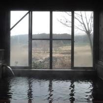 *【温泉】くじゅう連山の谷あいに涌く温泉です。