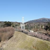 *【九重夢大つり橋】標高777mから望む360度の大パノラマ!!