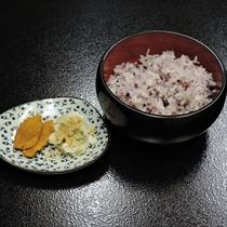 *【夕食】雑穀米☆お米にまでこだわっています。