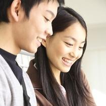 シックなデザインはカップルで素敵に過ごすのに最適