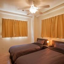 寝室は2つ