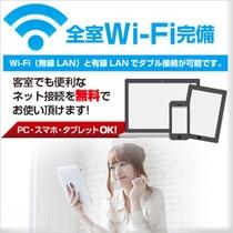 全館Wi-Fi無料サービス導入