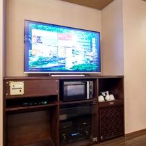 【全ての客室】55型の大きなTV