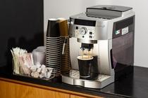 挽きたてコーヒーサービス