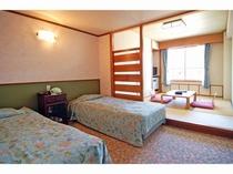 和洋室6畳+2ベッド