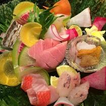 鮮魚とお野菜の盛り合わせ