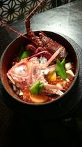 駿河湾鮮魚と伊豆コシヒカリの竈焚きご飯