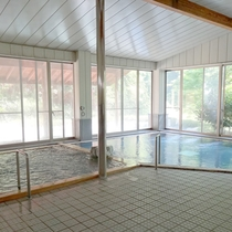■大浴場一例■源泉かけ流し100%!ツルスベの天然温泉で満喫♪