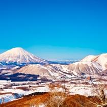 Winter Panorama View