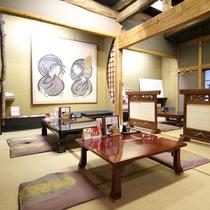*【お食事処 惣吉】畳張りの落ち着いた食事処。ごゆっくりとお過ごしください。