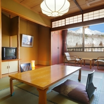 本館和室10畳・冬
