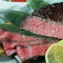 夕食バイキングイメージ 山形ブランド牛【蔵王牛の炙り焼き】