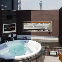 屋上貸切露天風呂
