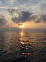 小値賀島の夕陽