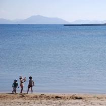 小値賀島のビーチから