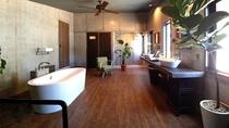 リビング・バスルーム