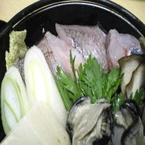 「夕食一例」三陸冬の鍋「どんこ鍋」