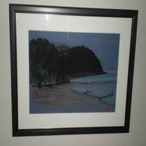 陸前高田市出身の画家、松田松雄の絵画を展示しています。