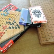 *【施設設備】カード・将棋などの無料貸し出しもございます。