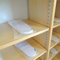 *【施設設備】スリッパは常に清潔なものをご用意しております。