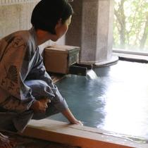 内湯「真秀の湯」は24時間入浴可能です