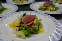 ディナーのサラダ