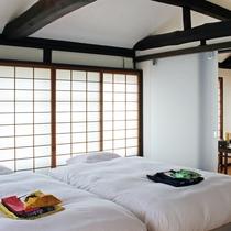 【障子庵】2階 特別なインテリアに囲まれ優しい陽の光が注ぐ部屋