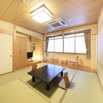 ◆客室の一例/純和風の趣のあるお部屋でごゆっくりお過ごしください。