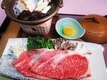 【いわて南牛プラン夕食一例】脂がのっているのにあっさり上品。とろけるような肉質をお楽しみください。