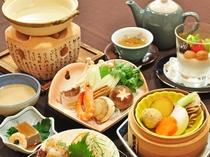 【お手軽薬膳プラン一例】全身に優しく働きかける当ホテルの薬膳料理。ごゆっくりお楽しみください。