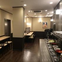 【バイキング SHIDAKA】朝食・夕食会場(朝食7:00~9:30 夕食18:00~23:00)
