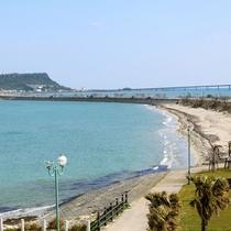 4.7kmの海中道路