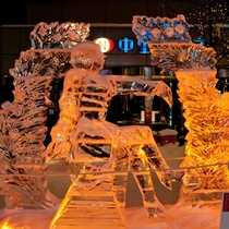 【冬まつり】氷像