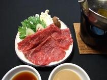 最上牛しゃぶしゃぶ(オプション料理)