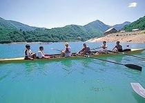 桂湖 カヌー体験