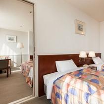 ◆コネクティングルーム(デラックスツインX2部屋)◆