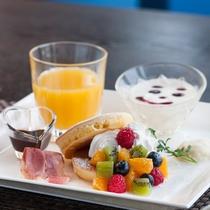 【ご朝食】モーニングキッズプレート