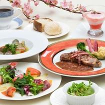 【ご夕食】レストラン&バー ロザージュディナーコース ※イメージ