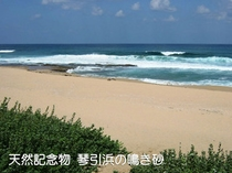 鳴き砂の琴引浜