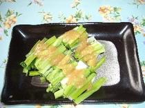 山菜 ウルイ料理